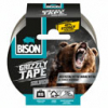 Bison Grizzly Tape Zilver rol 25 mtr