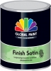 Global Finish satin 1 ltr. kleur uit wit/1