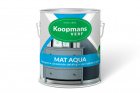 Koopmans Mat Aqua 250 ml 489/Antraciet