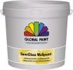 Global Semigloss wallpaint 2½ ltr. wit/basis 1