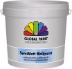 Global Semimatt Wallpaint 2½ ltr. wit/basis 1