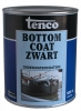 Tenco bottomcoat zwart 1 ltr.