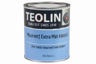 Teolin Muurverf Extra Mat 1 ltr wit/basis 1