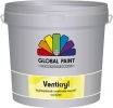 Global Venticryl 10 ltr. wit/basis 1